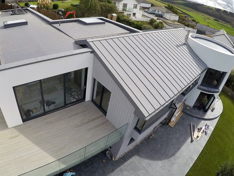Cornwall Zinc Roofing For All Metal Roofing In Cornwall