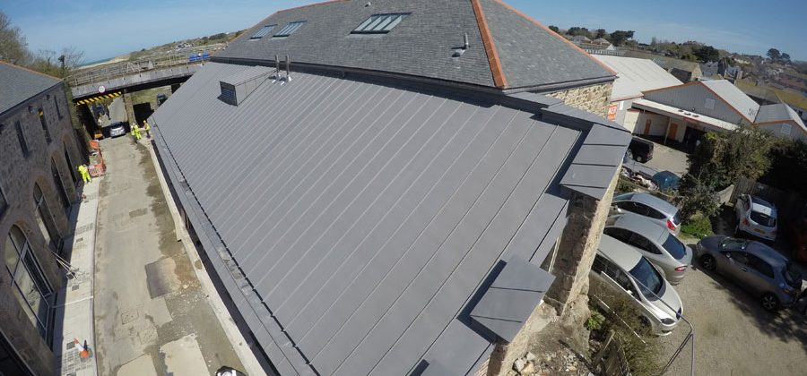 Cornwall Zinc Roofing The No 1 Go To Zinc Installer Throughout Cornwall